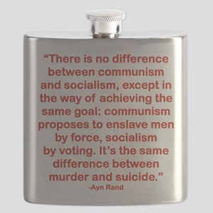THERE IS NO DIFFERENCE BETWEEN COMMUNISM AND Flask