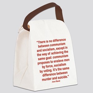 THERE IS NO DIFFERENCE BETWEEN CO Canvas Lunch Bag