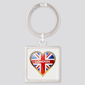 London Square Keychain