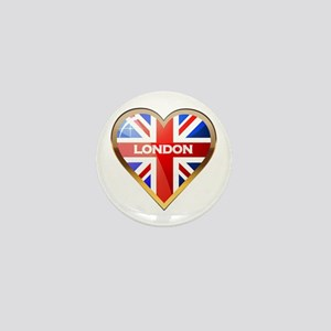 London Mini Button