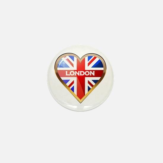 London Mini Button