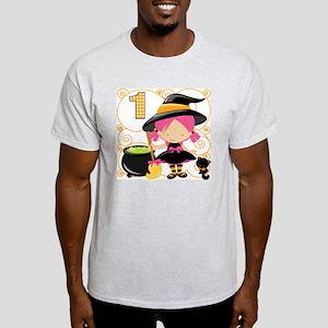 Girls Halloween 1 Light T-Shirt