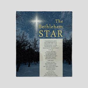 The Bethlehem Star Throw Blanket