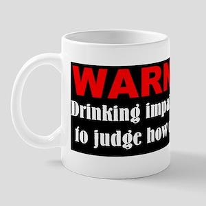 Funny drunk driving Mug