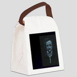 E.A. Poe Canvas Lunch Bag