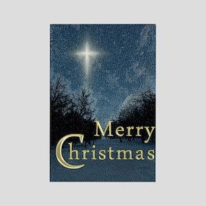 The Bethlehem Star Rectangle Magnet