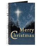 Christmas Journals & Spiral Notebooks