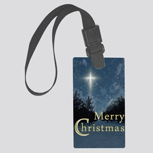 The Bethlehem Star Large Luggage Tag