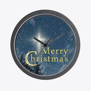 The Bethlehem Star Wall Clock