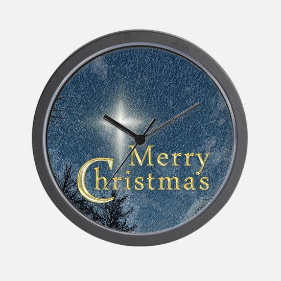 The Bethlehem Star Wall Clock
