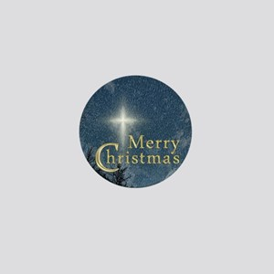 The Bethlehem Star Mini Button