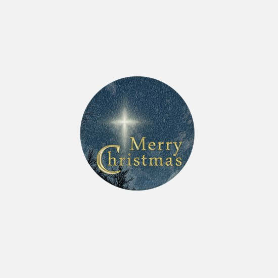 The Bethlehem Star Mini Button