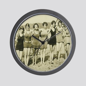 Vintage Bathing Beauties Wall Clock