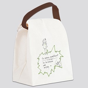 Love What You Do Canvas Lunch Bag