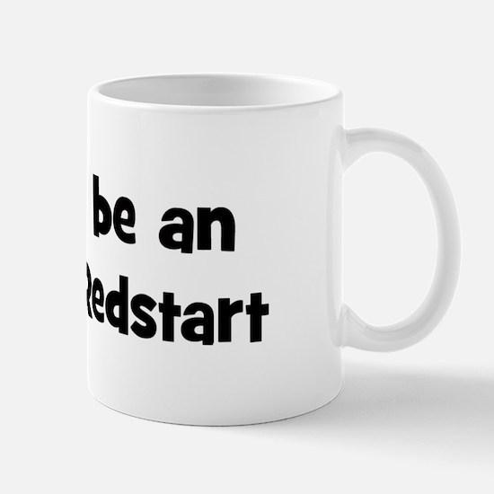Rather be a American Redstart Mug