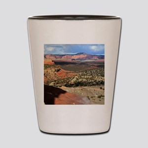 Burr Trail Canyon Shot Glass