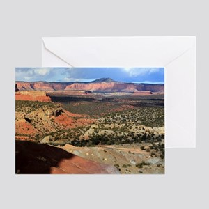 Burr Trail Canyon Greeting Card