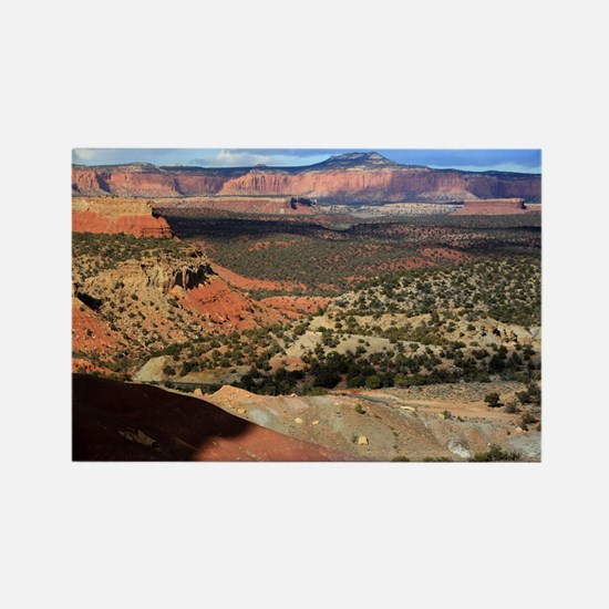 Burr Trail Canyon Rectangle Magnet