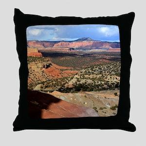 Burr Trail Canyon Throw Pillow
