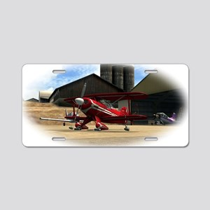 Red Pitts S2S Aluminum License Plate