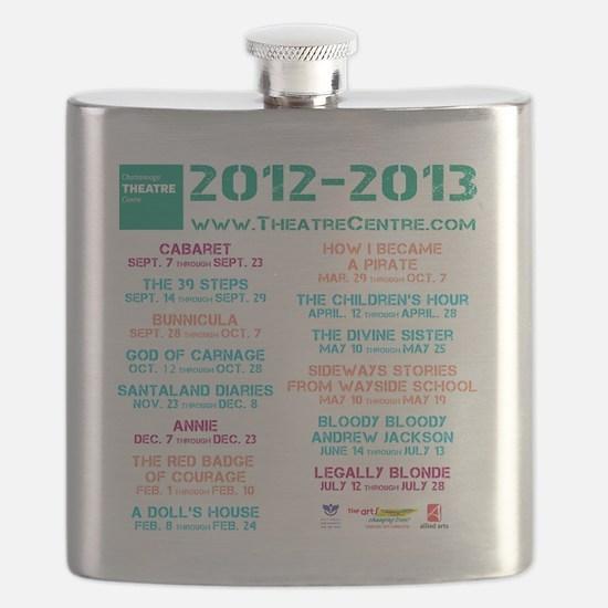 Chattanooga Theatre Centre 2012-13 Season Flask