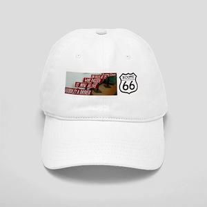 Route 66 - Burma Shave Bumper Sticker Cap