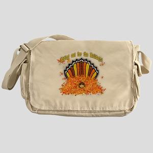 Hiding out Turkey Messenger Bag