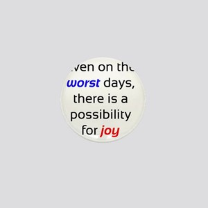Possibility For Joy Mini Button