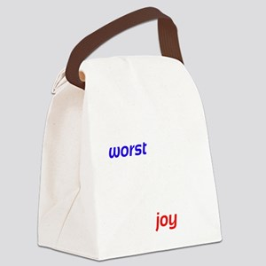 Possibility For Joy Canvas Lunch Bag
