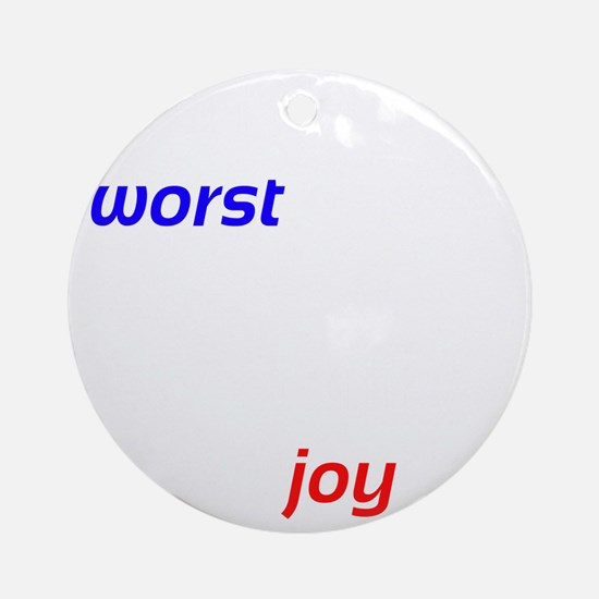 Possibility For Joy Round Ornament