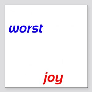 """Possibility For Joy Square Car Magnet 3"""" x 3"""""""
