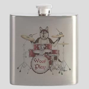 Banging Pawl Flask