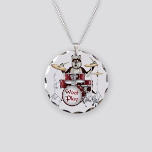 Banging Pawl Necklace Circle Charm