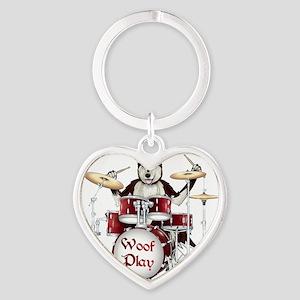 Banging Pawl Heart Keychain