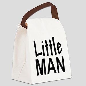 Little Man: Canvas Lunch Bag