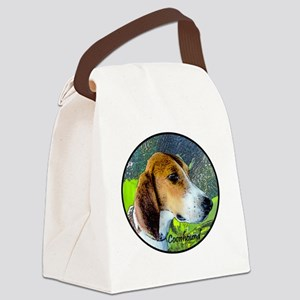 Coonhound II Canvas Lunch Bag