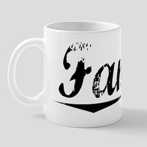 Fannin, Vintage Mug