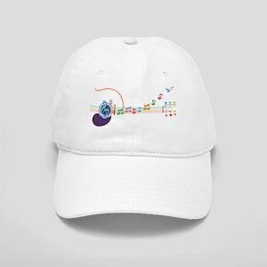 neon-guit-notes-T Cap