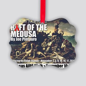 Raft of the Medusa Picture Ornament