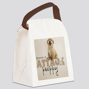 goldi_shower_curtain Canvas Lunch Bag