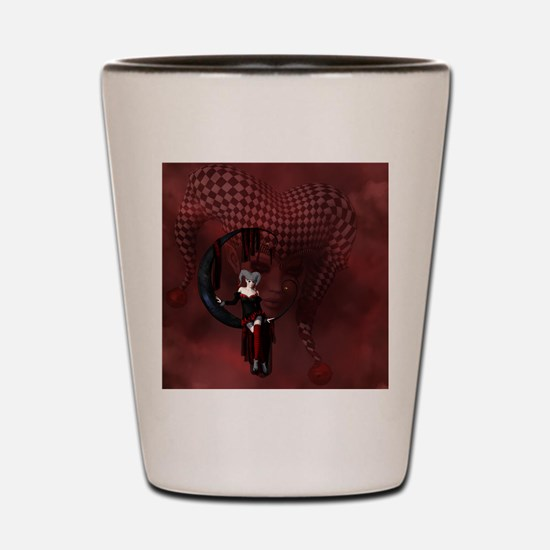 Joker Shot Glass