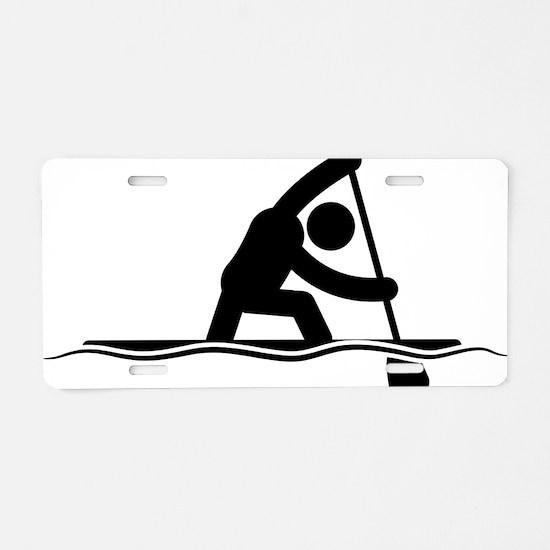 Canoe-Sprint-A Aluminum License Plate