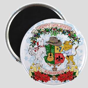 Holiday Kaniac Crest Magnet