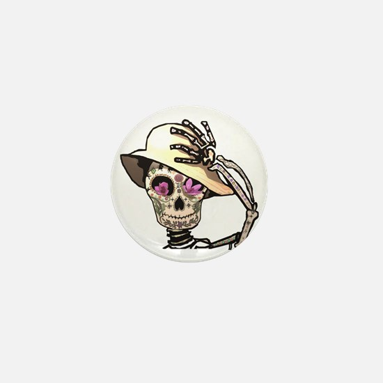 Sunny Skeleton T-shirt Mini Button