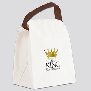 Del King Construction from Multip Canvas Lunch Bag