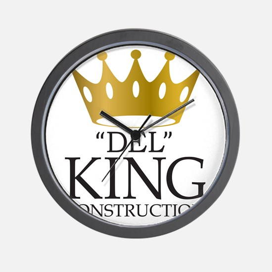 """Del King Construction from """"Multiplicit Wall Clock"""