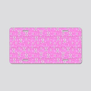 TOILETRY BAG Aluminum License Plate