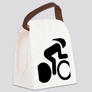 Bicycle-Racer-A Canvas Lunch Bag
