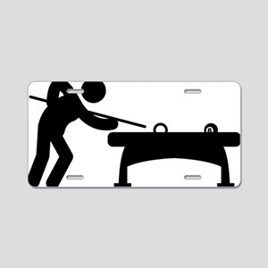 Billiard-And-Pool-A Aluminum License Plate