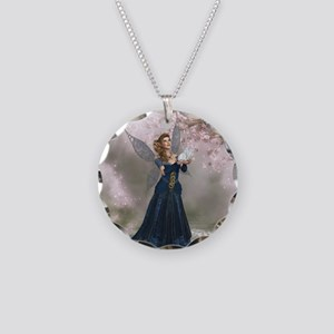 Fairy Land Necklace Circle Charm
